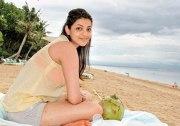 Каджал Агарвал  на пляжах Бали.