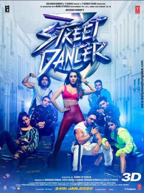 Уличный танцор 3D (Street Dancer 3D)