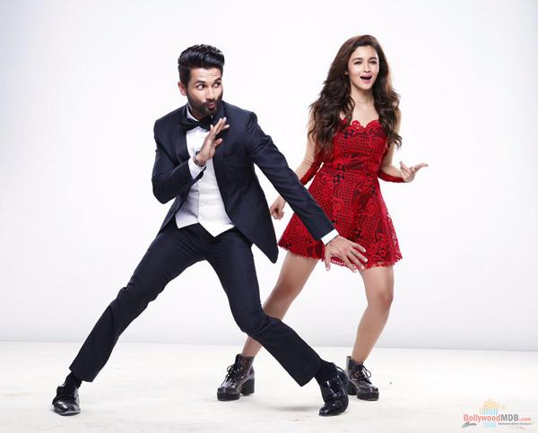 Шахид Капур и Алиа Бхатт