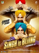 Singh Is Bliing. Постер